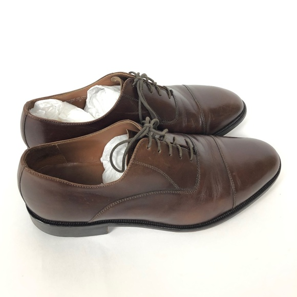 Bostonian Other - Bostonian Brown Leather Made In Italy Oxfords
